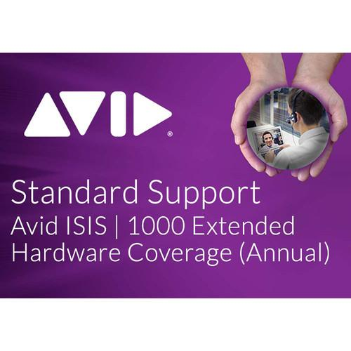 Avid Extended Hardware Coverage Add-On for ISIS 9920-65280-00
