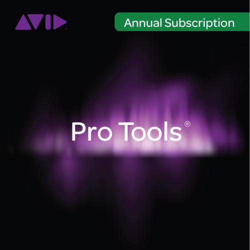 Avid Pro Tools Subscription - Audio and Music 99356590400
