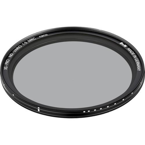 B W 49mm XS-Pro Digital ND Vario MRC-Nano Filter 66-1082203