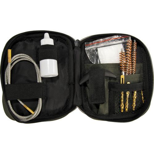 Barska Rifle Cleaning Kit with Flexible Rod and Pouch AW11960