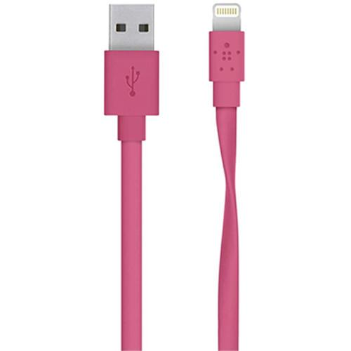 Belkin MIXIT Flat Lightning to USB Cable F8J148BT04-PNK