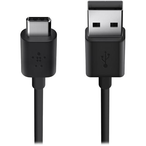 Belkin USB 2.0 Type-A to USB Type-C Charge Cable F2CU032BT06-BLK