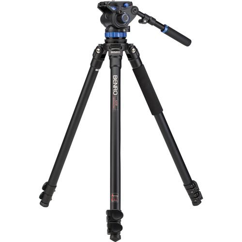 Benro S7 Video Tripod Kit with A373F Aluminum Legs A373FBS7