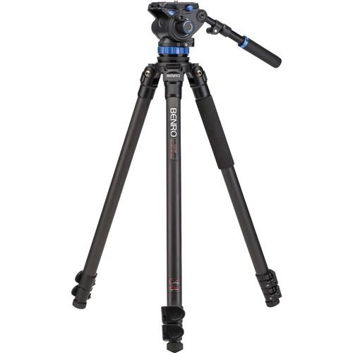 Benro S7 Video Tripod Kit with A373F Carbon Fiber Legs C373FBS7