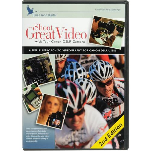 Blue Crane Digital Training DVD: Shoot Great Video BC207
