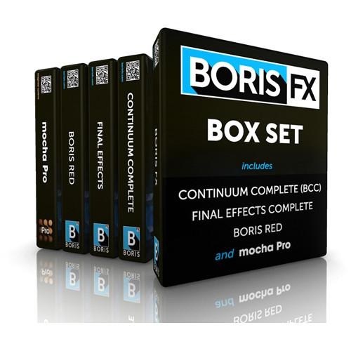 Boris FX  Box Set Upgrade (Download) BOXU