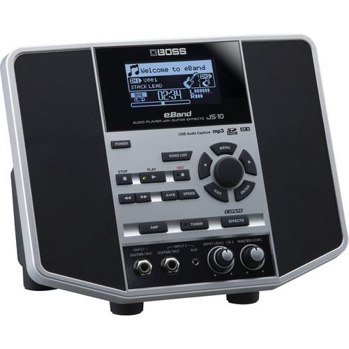 BOSS eBand JS-10 Audio Player with Guitar Effects JS-10