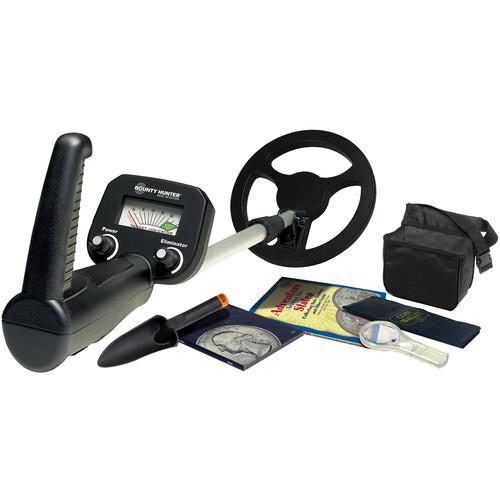 Bounty Hunter Junior Metal Detector with Coin Collecting BHJSCC