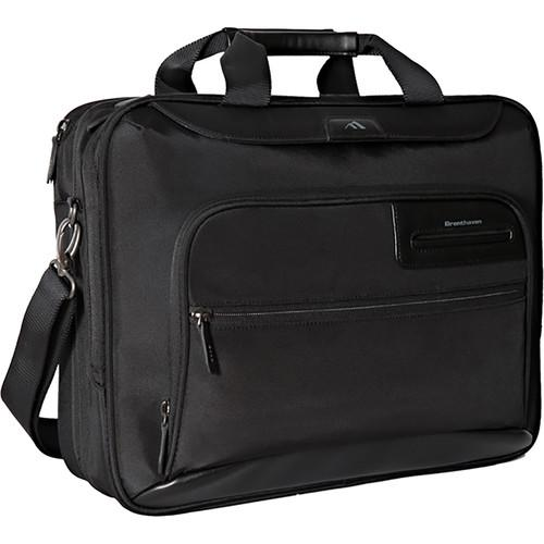 Brenthaven Elliot Deluxe Laptop and Tablet Brief (Black) 2301