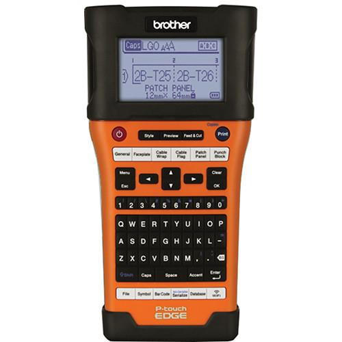 Brother PT-E550W Industrial Wireless Handheld Labeling PT-E550W