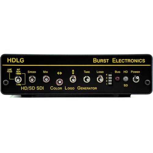 Burst Electronics HDLG HD/SD-SDI Color Logo Generator BURST-HDLG