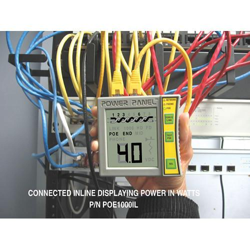 Byte Brothers POE1000 Power Panel Jack and PoE Tester POE1000IL