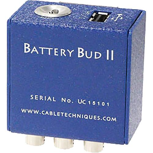 Cable Techniques BBUDuKIT-SR Battery Bud II-USB Kit BBUDUKIT-SR