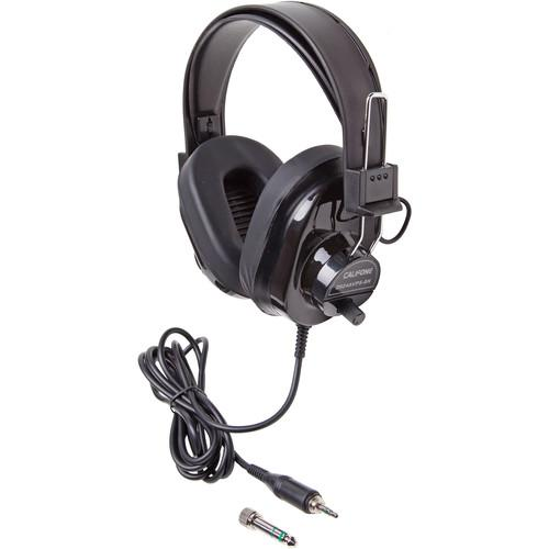 Califone 2924AVPS-BK Deluxe Stereo Headphone 2924AVPS-BK