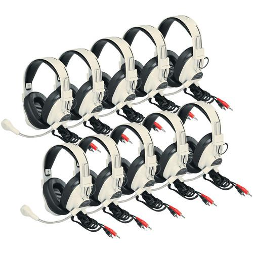 Califone 3066AV-10L Deluxe Multimedia Stereo Headset 3066AV-10L