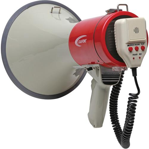 Califone PA25RX 25W Handheld Megaphone with Aux Input and PA25RX