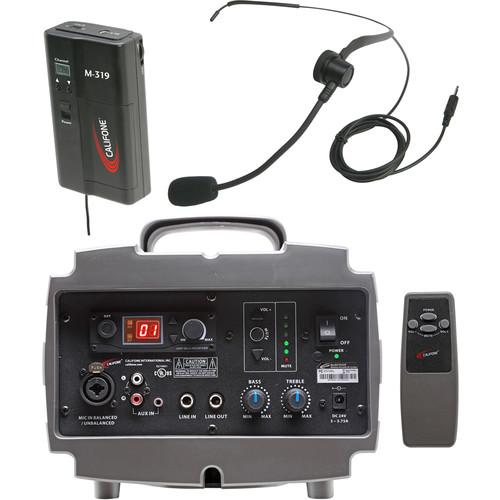 Califone PA329M Wireless PresentationPro PA System PA329M