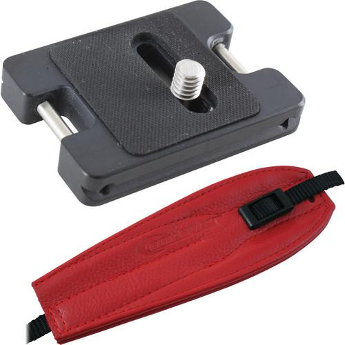 Camdapter XT Arca Adapter with Red Pro Strap CB-4002-RED