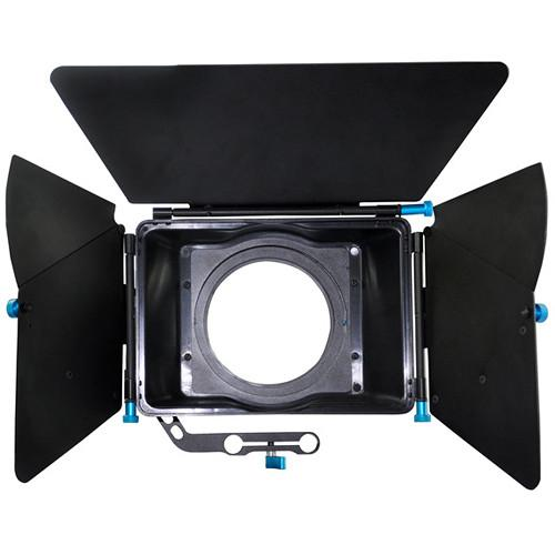 CAME-TV L-M2 Professional DSLR Matte Box for 15mm Rods L-M2
