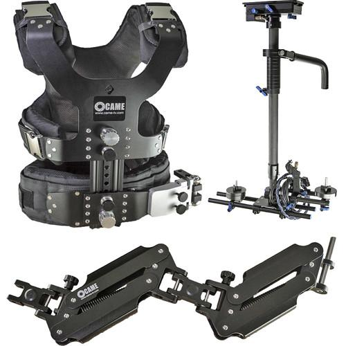 CAME-TV Pro Camera Carbon Stabilizer with Support LBV L4A LBS1