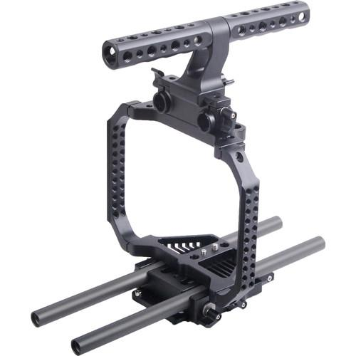 CAME-TV Protection Cage with Top Handle for Blackmagic HT-BMCC