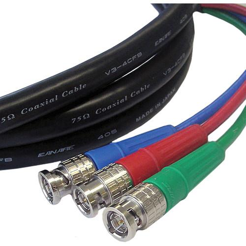 Canare 3 BNC Male to 3 BNC Male 3 Channel SDI HD3BP-3BP-15B