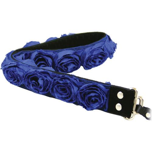 Capturing Couture Organza Camera Strap (Cobalt Blue) SLR15-CBRS