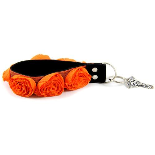 Capturing Couture Organza Key Chain (Orange) KEY15-OGRS