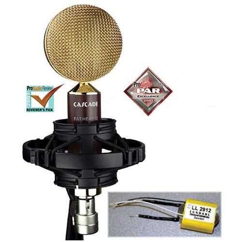 Cascade Microphones FAT HEAD II Ribbon Microphone 99-GL