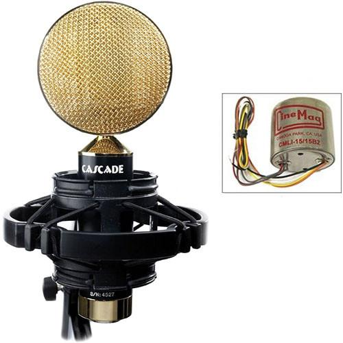 Cascade Microphones FAT HEAD II Ribbon Microphone 99-GSC