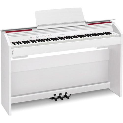Casio PX-860 Privia 88-Key Digital Piano (White) PX-860WE