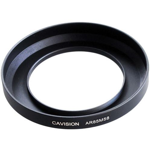 Cavision 85mm to 58mm Threaded Metal Deep Offset Step-Up AR85M58