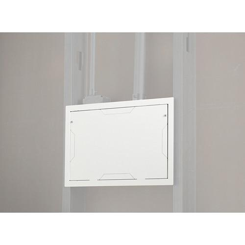 Chief PAC525FW In-Wall Storage Box with Flange (White) PAC525FW