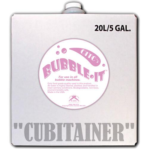 CITC Bubble-It Fluid (5 Gallon, Cubitainer) 150801-C
