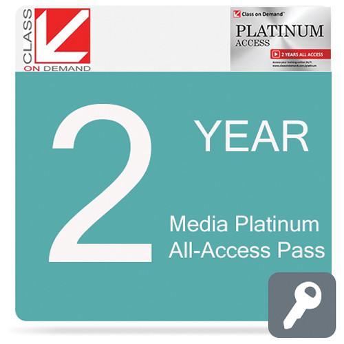 Class on Demand Media Platinum 2-Year All-Access Pass 99913
