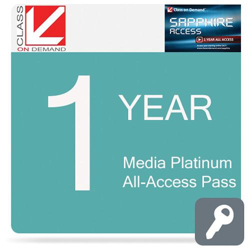 Class on Demand Media Sapphire 1-Year All-Access Pass 99912