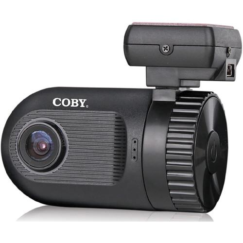 Coby DCHDG-201 Full HD 1080p Dashcam & GPS Logger DCHDG-201