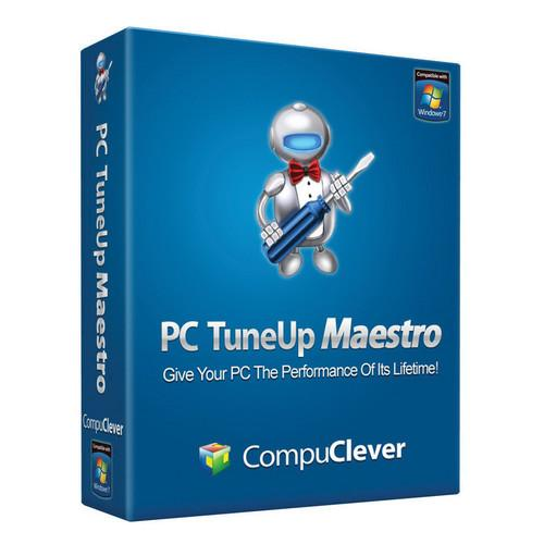 CompuClever Systems PC Tuneup Maestro Software PCTUM-3