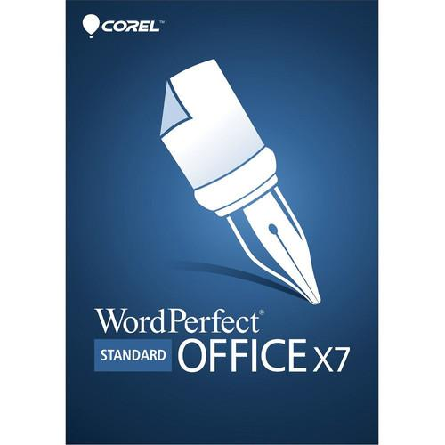 Corel WordPerfect Office X7 Standard Edition ESDWPX7STDEN