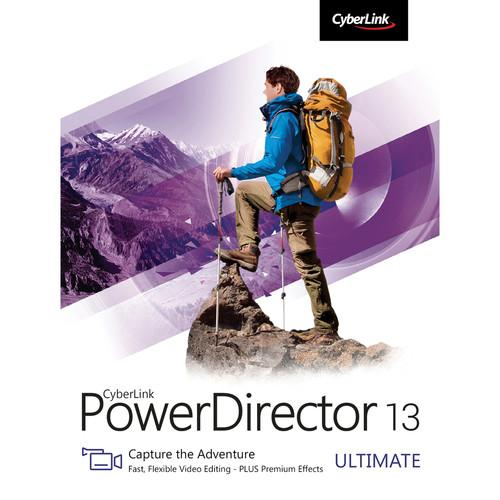 CyberLink PowerDirector 13 Ultimate Software PDR-0D00-IWM0-00