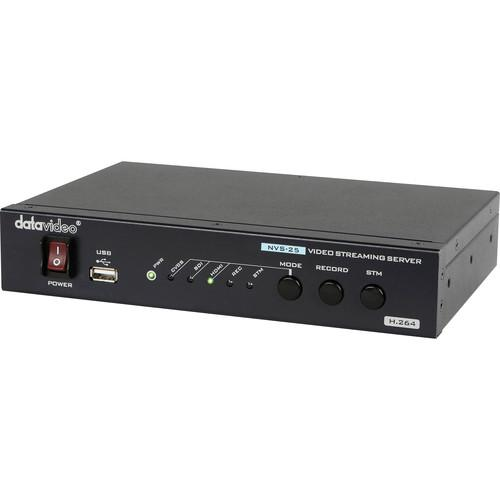 Datavideo NVS-25 H.264 Video Streaming Server NVS-25