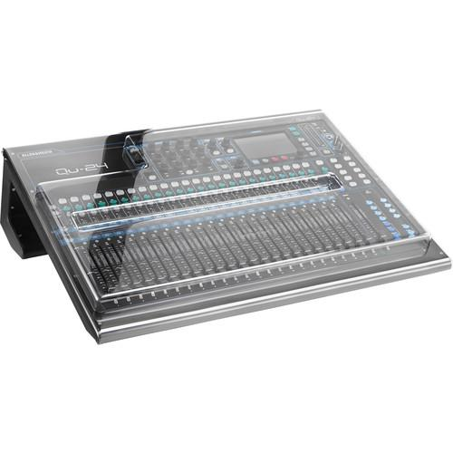 Decksaver Cover for Allen & Heath QU-24 Mixer DSP-PC-QU24