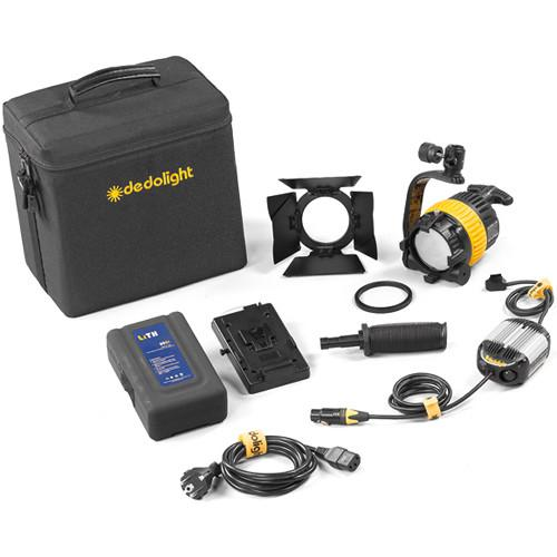 Dedolight DLED4.1-D Daylight LED 1-Light Kit SLED1-D