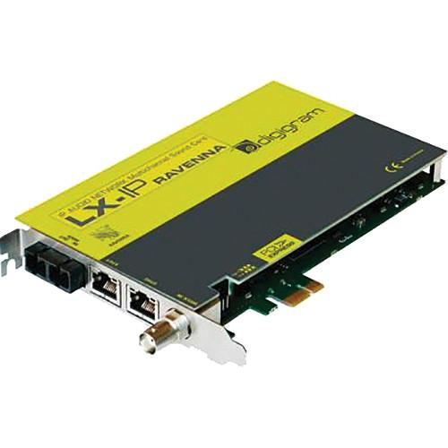 Digigram LX-IP RAVENNA PCIe Sound Card with MADI VB2228A0401