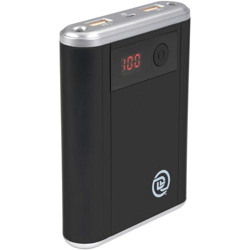 DIGITAL TREASURES ChargeIt! 10,000 mAh Dual-USB Power 09313-PG