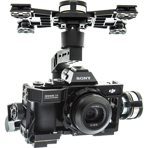 User manual DJI Zenmuse Z15-A7 3-Axis Gimbal for Sony a7S / a7R CP