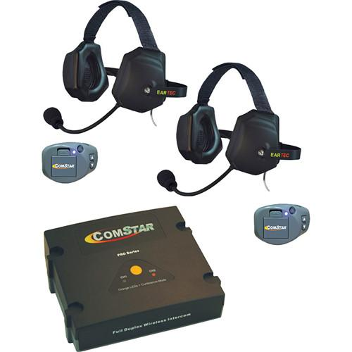 Eartec ComStar Com-Center Intercom Kit with 2 Beltpacks CPKXTR-2