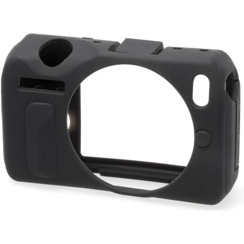 easyCover Silicone Protection Cover for Canon EOS M (Black) ECCM