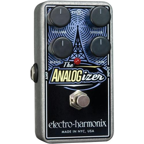 Electro-Harmonix Analogizer Pedal for Preamplifier EQ and ANALOG