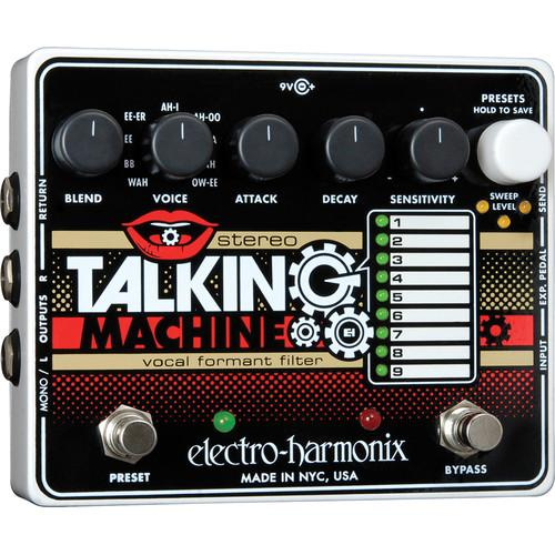 Electro-Harmonix Stereo Talking Machine with Vocal Formant TALK